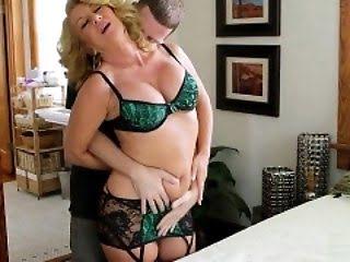 В чулках секси ролики