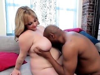 BBW Enjoying A Big Cock In...