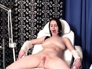 Sexy daughter hard gang bang