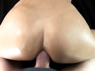 Pretty brunette loves anal...