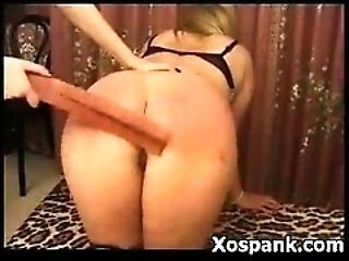 Beautiful Ass Spanked all Red