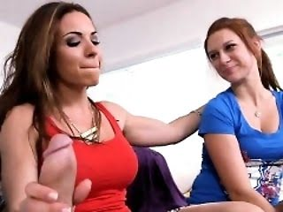 Busty stepmom teaches teen...