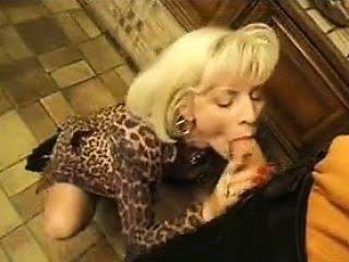 Blonde GILF Anal Fucked In...