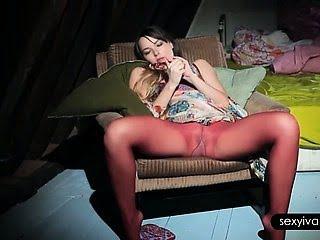 Seductive Ivana in...