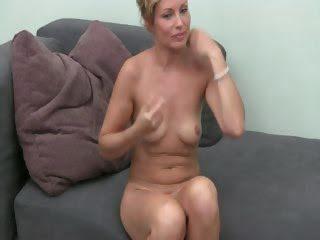 Hot model masturbating with...