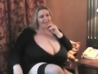 Naughty BBW Plays With Her...