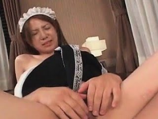 Teen asian maid gets hairy...