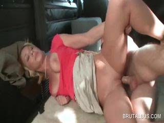 Blondie getting slit fucked
