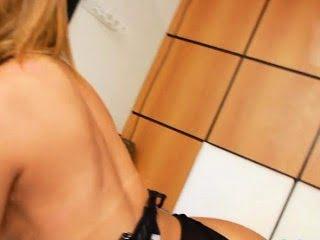 Seductive feminine blonde...