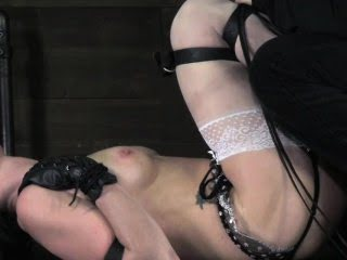Fetish bdsm sub tied up and...