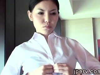 2 Sexy Japanese stewardess...