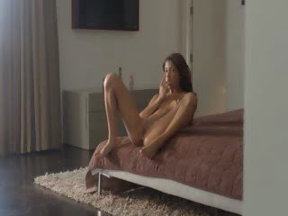 Wet orgasm of exotic woman...