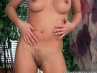 Brunette sexy body slut...