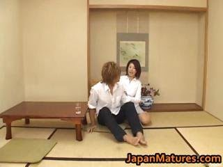 Horny japanese mature babes...
