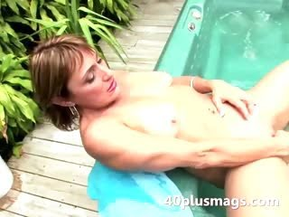 See this wet pussy toying