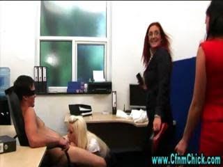 British cfnm voyeur handjob