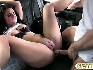 Redhead trying anal sex in...