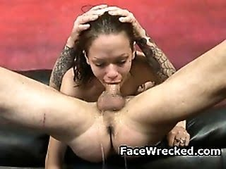 Sexy Frau painful fuck