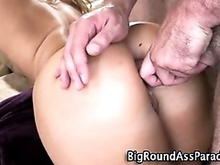 Sexy Blonde Pleases Herself...